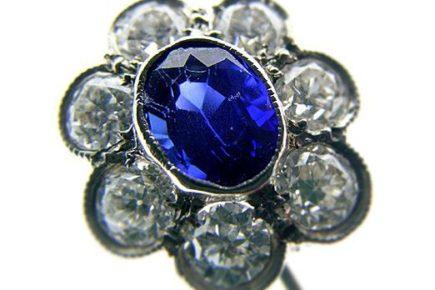 Sapphire Brooch